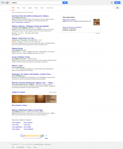 Madera Search Results